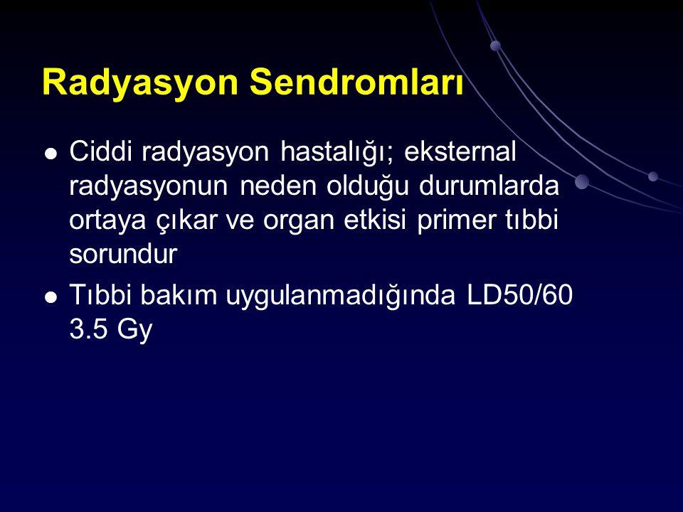 Radyasyon Sendromları