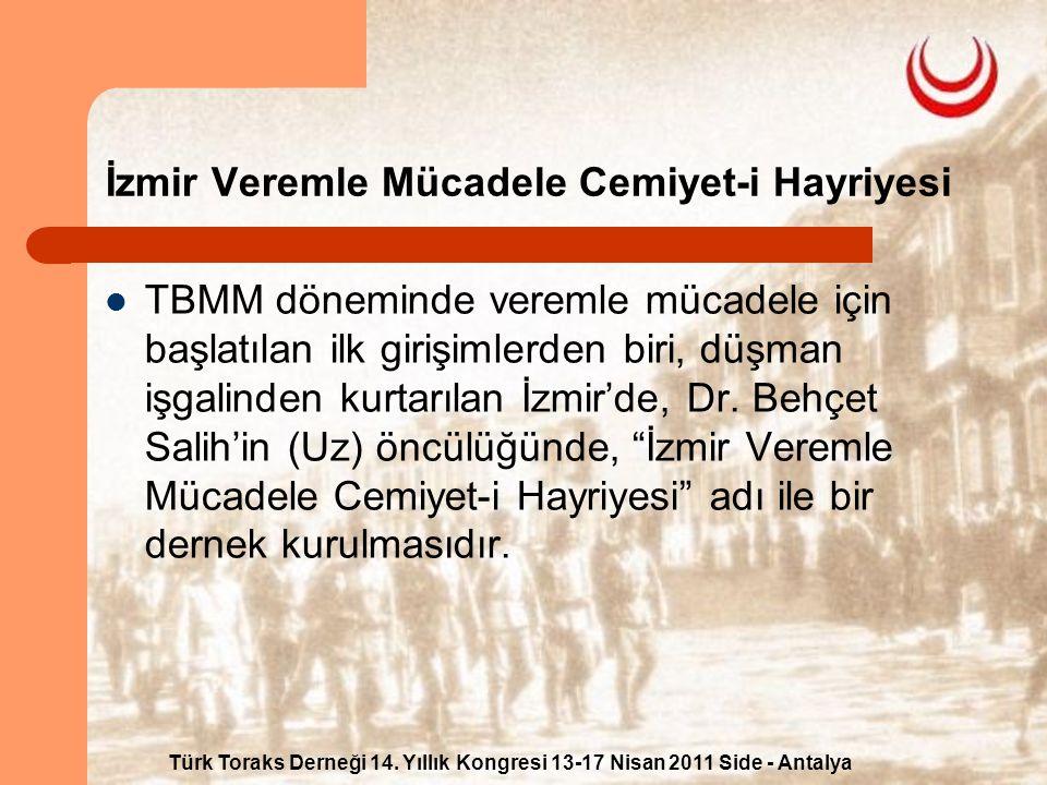 İzmir Veremle Mücadele Cemiyet-i Hayriyesi