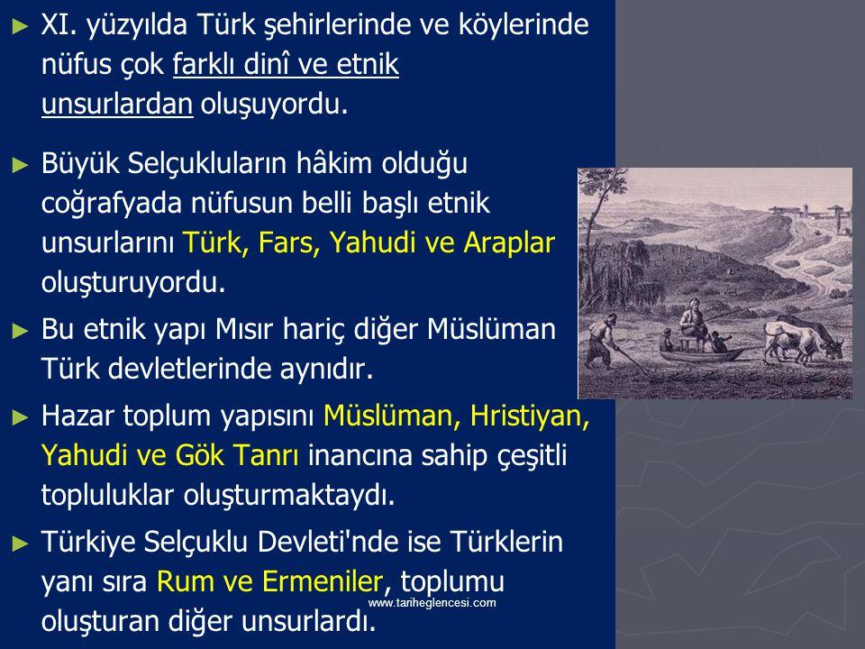 Bu etnik yapı Mısır hariç diğer Müslüman Türk devletlerinde aynıdır.