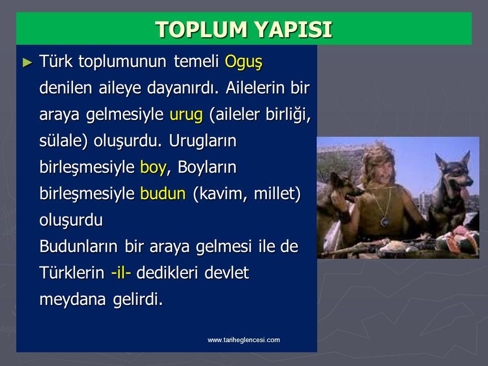 TOPLUM YAPISI