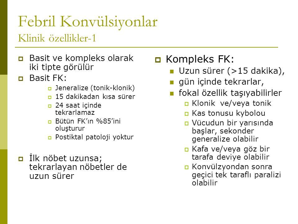 Febril Konvülsiyonlar Klinik özellikler-1