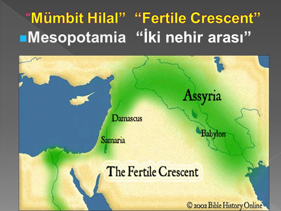 Mümbit Hilal Fertile Crescent