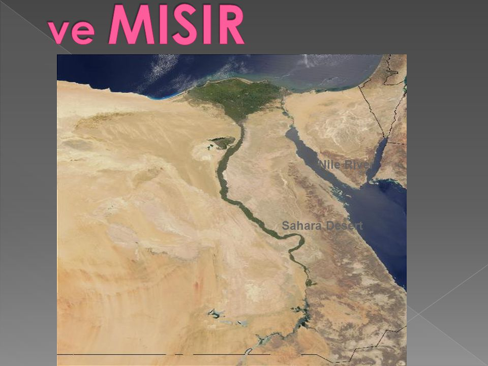 ve MISIR Nile River Sahara Desert