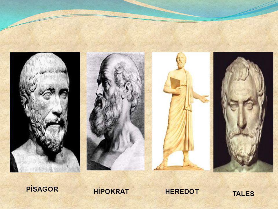 PİSAGOR HİPOKRAT HEREDOT TALES
