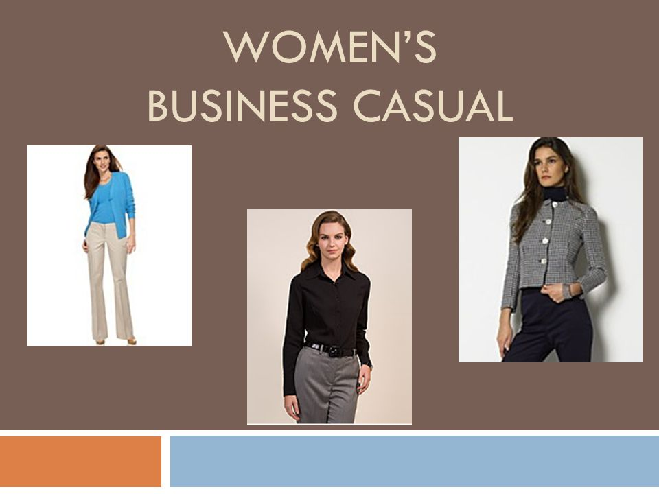 Women's Business Casual
