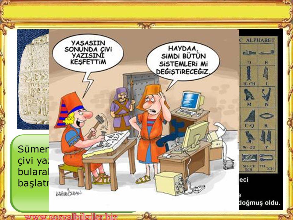 Mısırlılarda bir çeşit resim yazısı da diyebileceğimiz Hiyeroglif yazıyı kullanmışlardır.