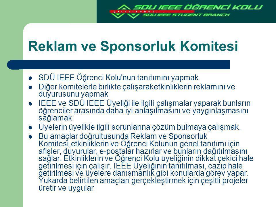 Reklam ve Sponsorluk Komitesi