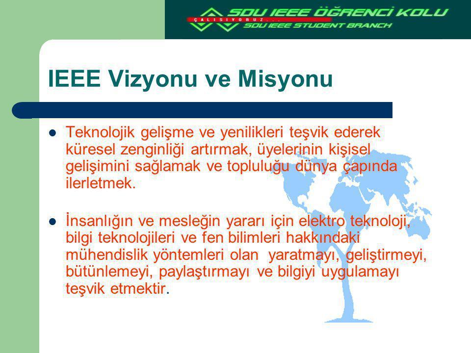 IEEE Vizyonu ve Misyonu
