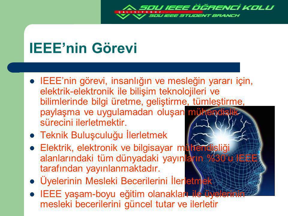 IEEE'nin Görevi