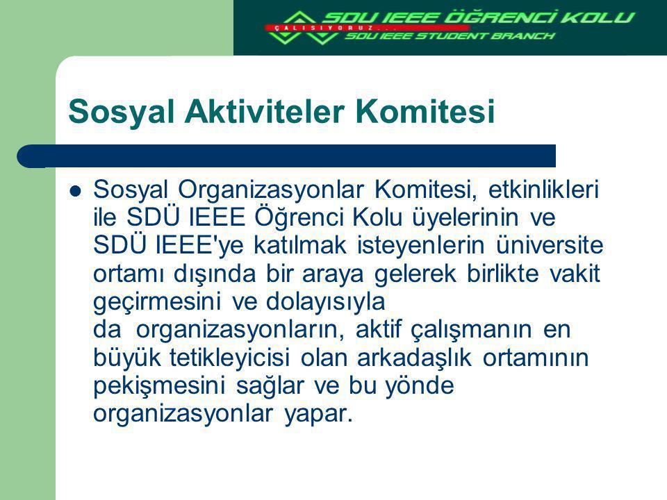 Sosyal Aktiviteler Komitesi