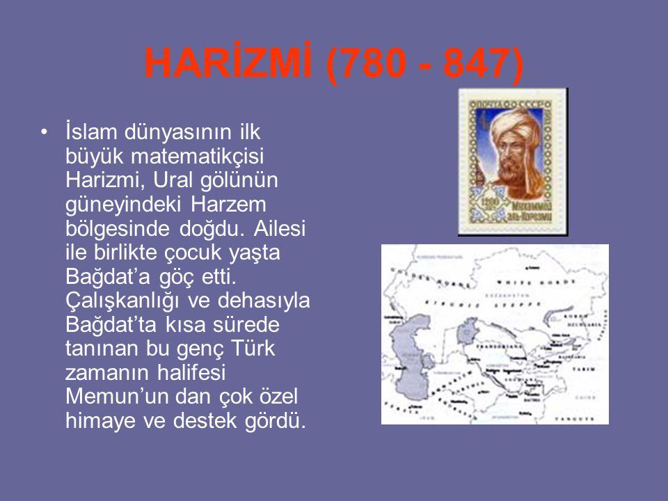 HARİZMİ (780 - 847)