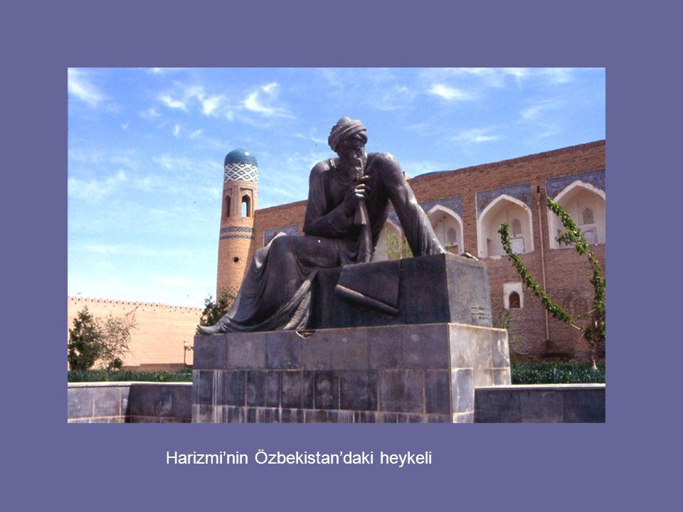 Harizmi'nin Özbekistan'daki heykeli