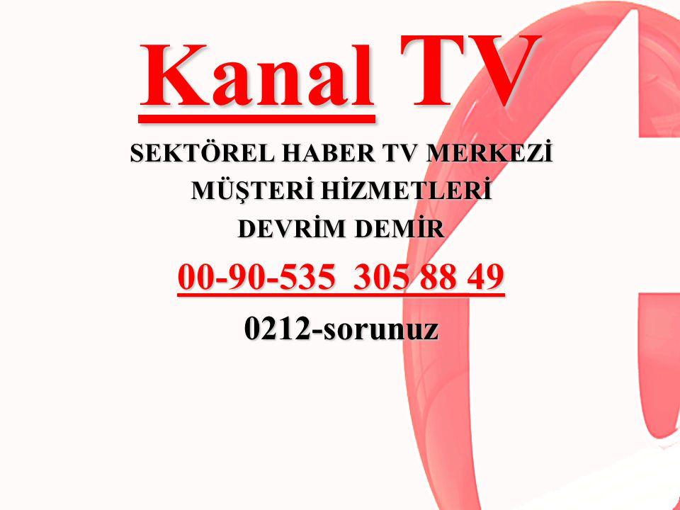 SEKTÖREL HABER TV MERKEZİ