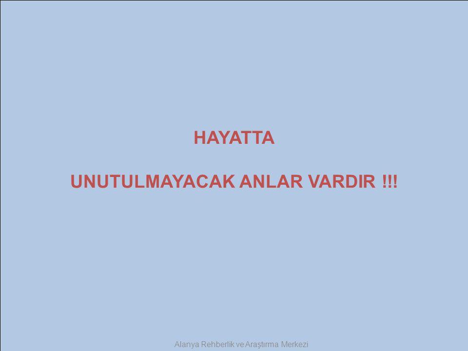 HAYATTA UNUTULMAYACAK ANLAR VARDIR !!!