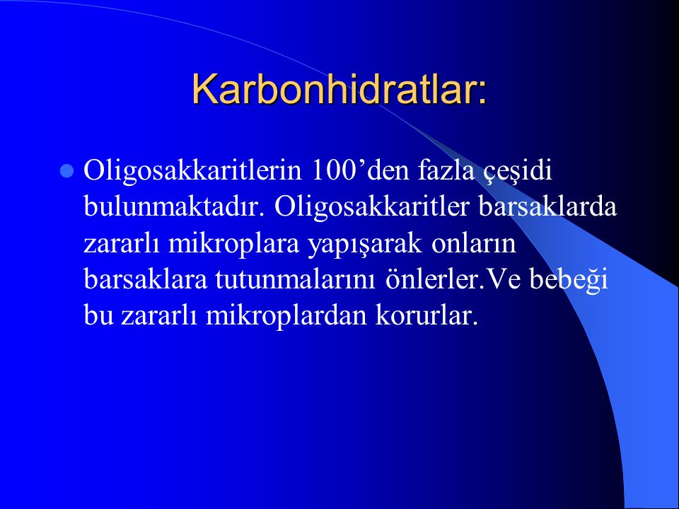 Karbonhidratlar: