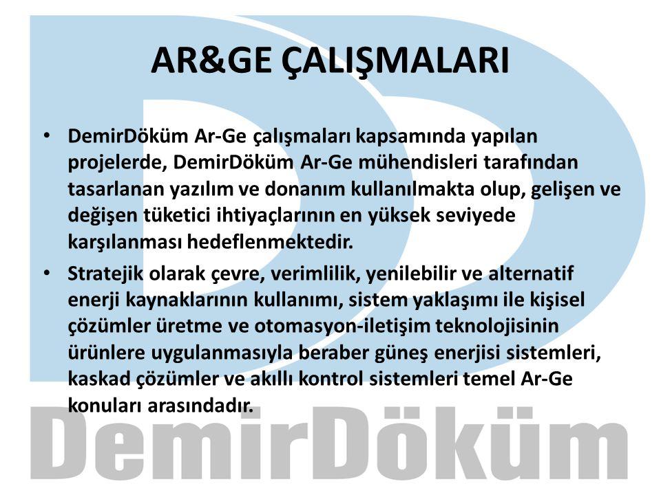 AR&GE ÇALIŞMALARI