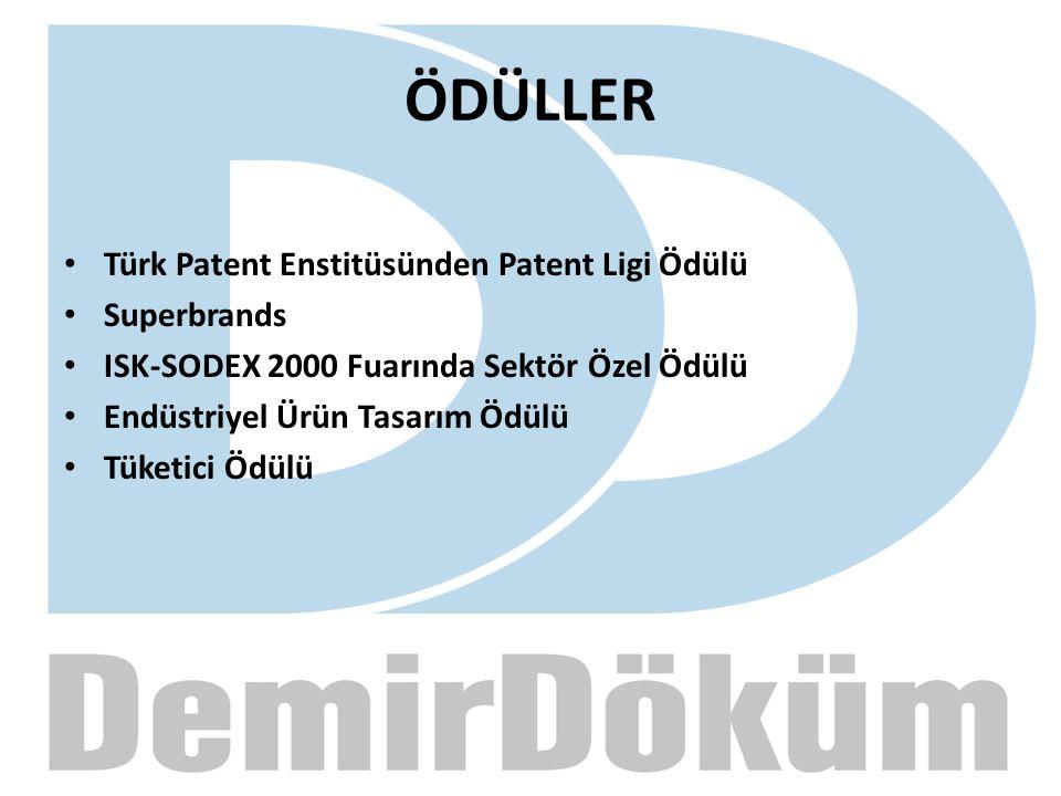 ÖDÜLLER Türk Patent Enstitüsünden Patent Ligi Ödülü Superbrands