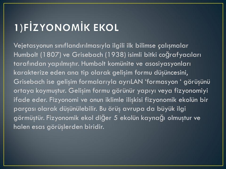 1)FİZYONOMİK EKOL