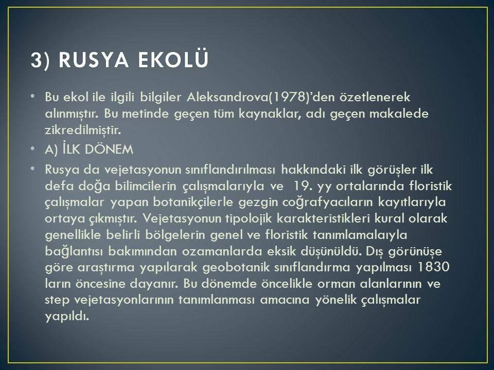 3) RUSYA EKOLÜ