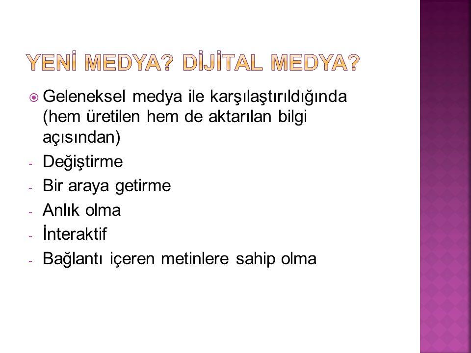 Yenİ Medya Dİjİtal Medya