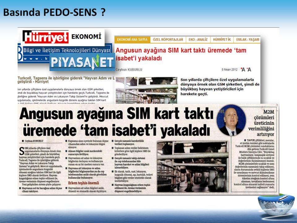 Basında PEDO-SENS