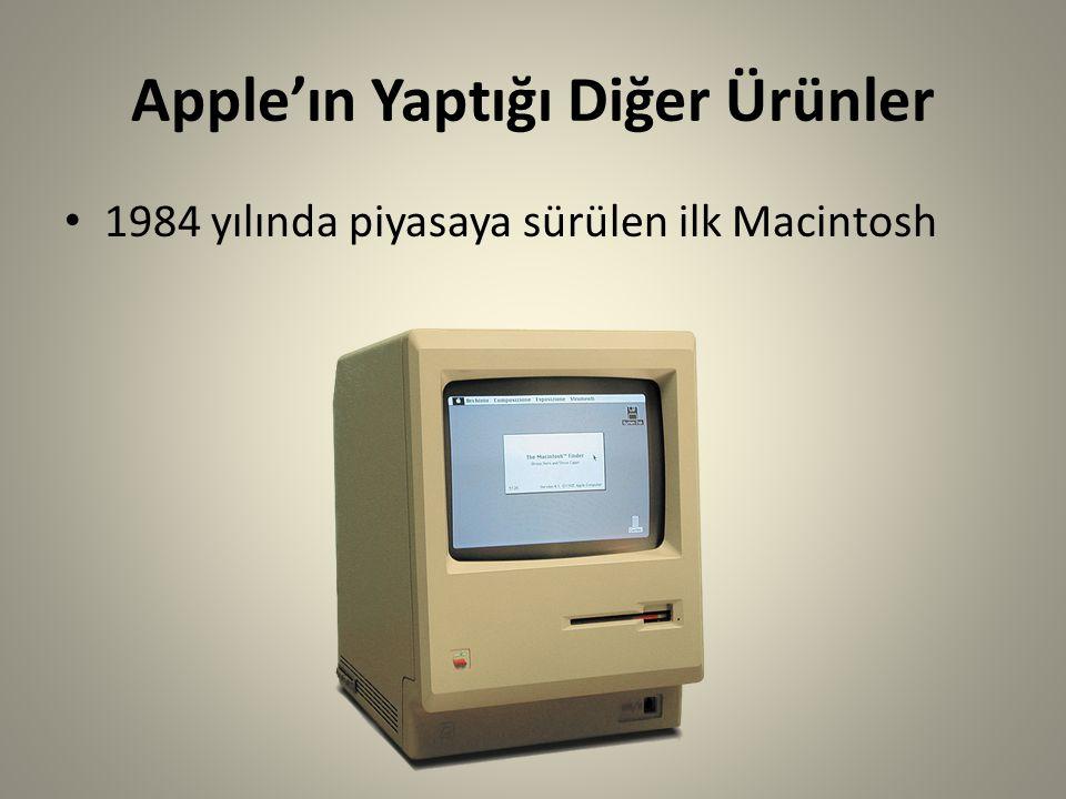 Apple'ın Yaptığı Diğer Ürünler
