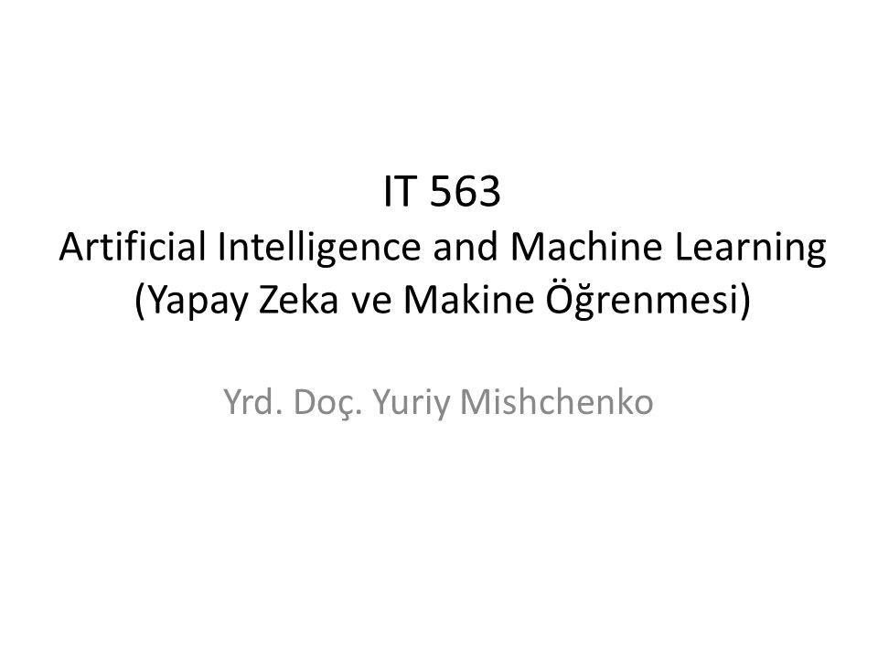 Yrd. Doç. Yuriy Mishchenko
