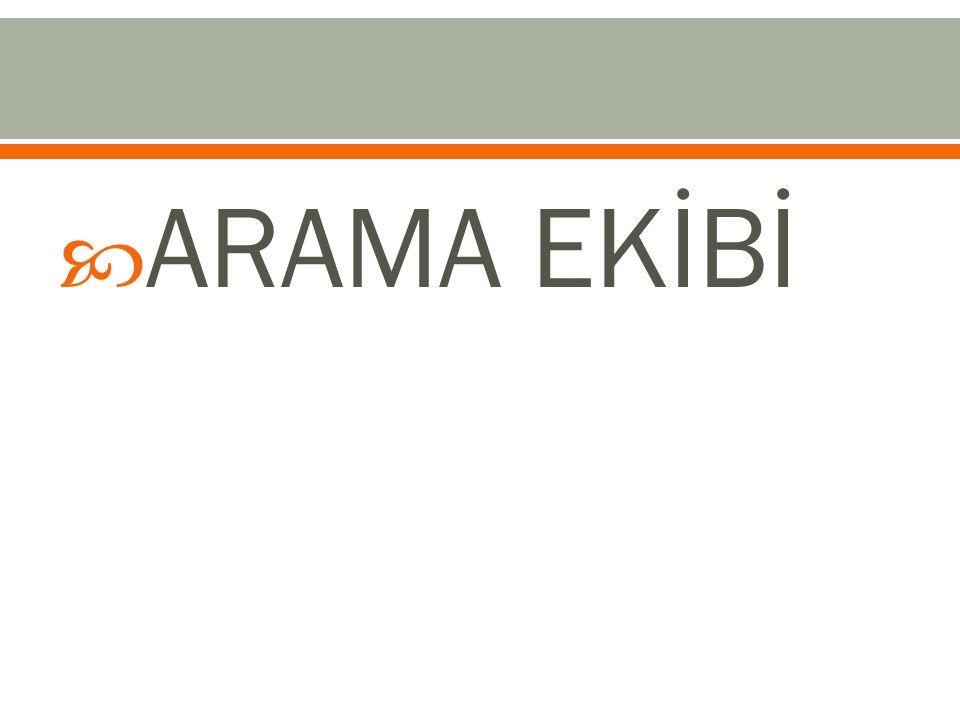 ARAMA EKİBİ