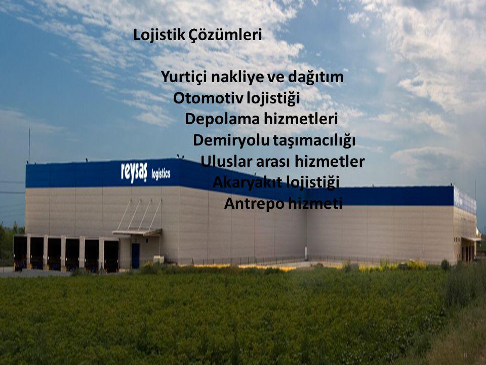 Lojistik Çözümleri Yurtiçi nakliye ve dağıtım. Otomotiv lojistiği. Depolama hizmetleri. Demiryolu taşımacılığı.