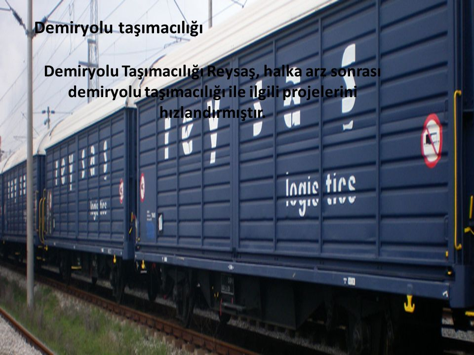 Demiryolu taşımacılığı