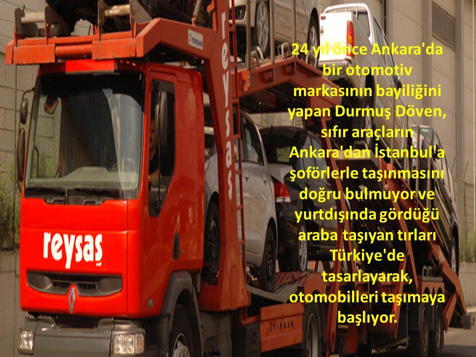 24 yıl önce Ankara da bir otomotiv markasının bayiliğini yapan Durmuş Döven, sıfır araçların Ankara dan İstanbul a şoförlerle taşınmasını doğru bulmuyor ve yurtdışında gördüğü araba taşıyan tırları Türkiye de tasarlayarak, otomobilleri taşımaya başlıyor.