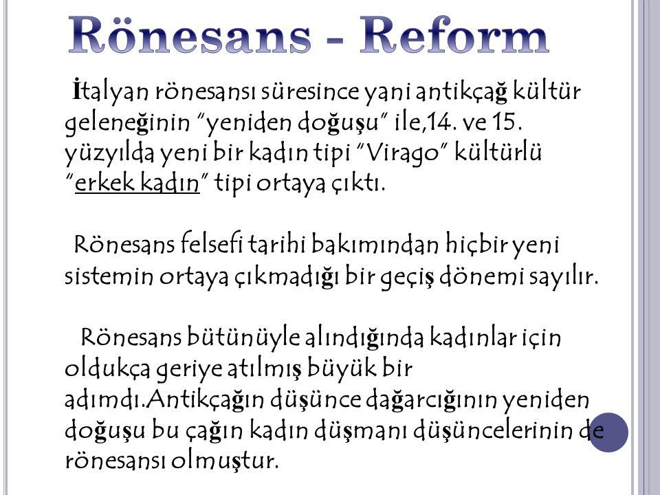 Rönesans - Reform
