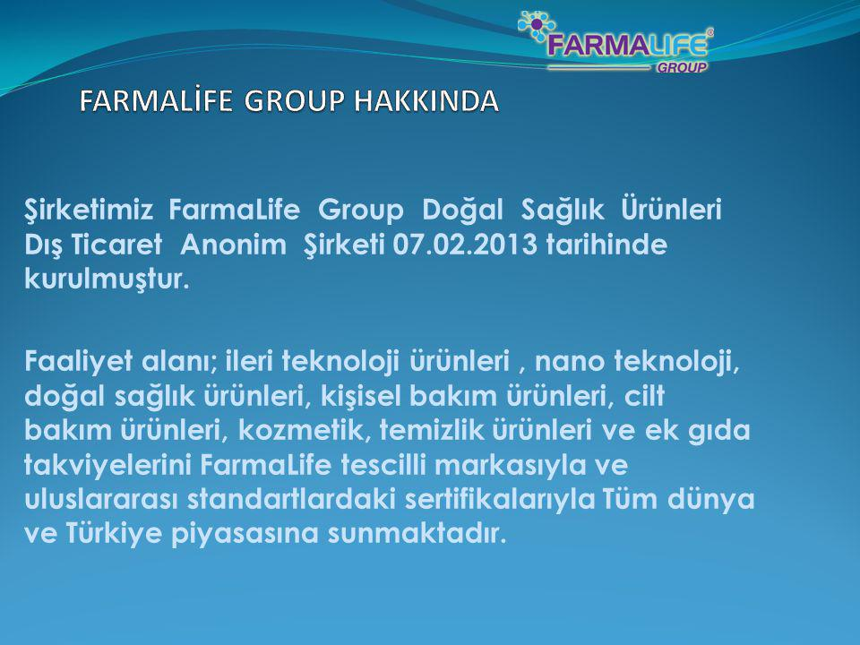 FARMALİFE GROUP HAKKINDA