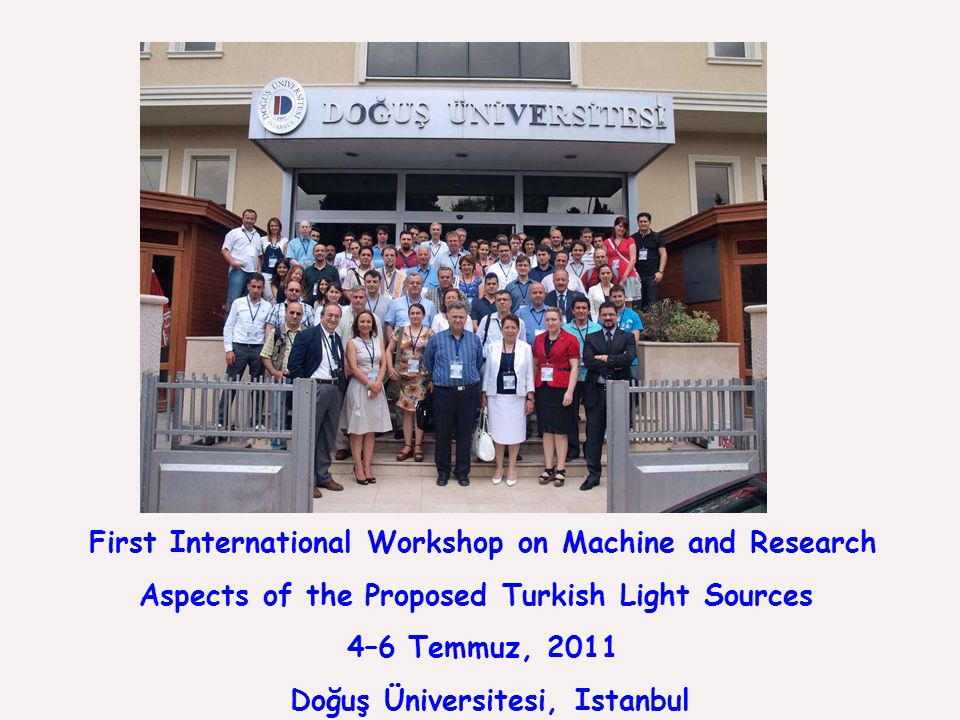 First International Workshop on Machine and Research