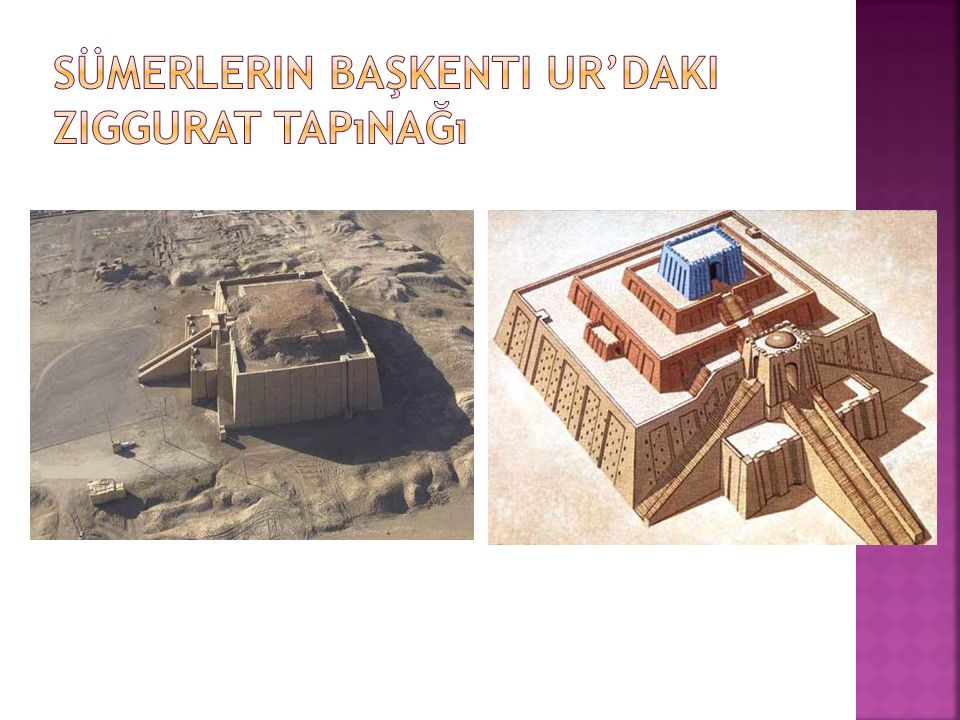 Sümerlerin başkenti Ur'daki Ziggurat Tapınağı