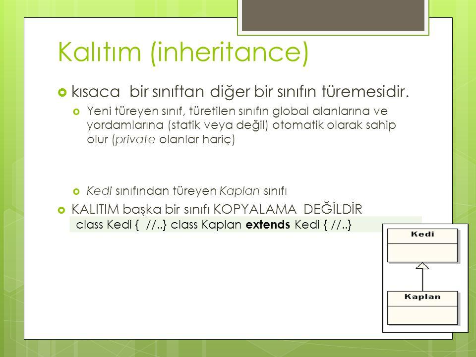 Kalıtım (inheritance)