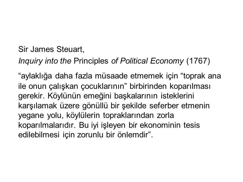 Sir James Steuart, Inquiry into the Principles of Political Economy (1767)