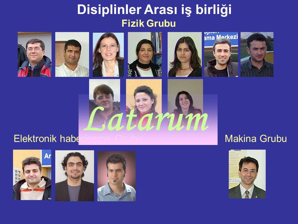 Latarum Disiplinler Arası iş birliği Fizik Grubu