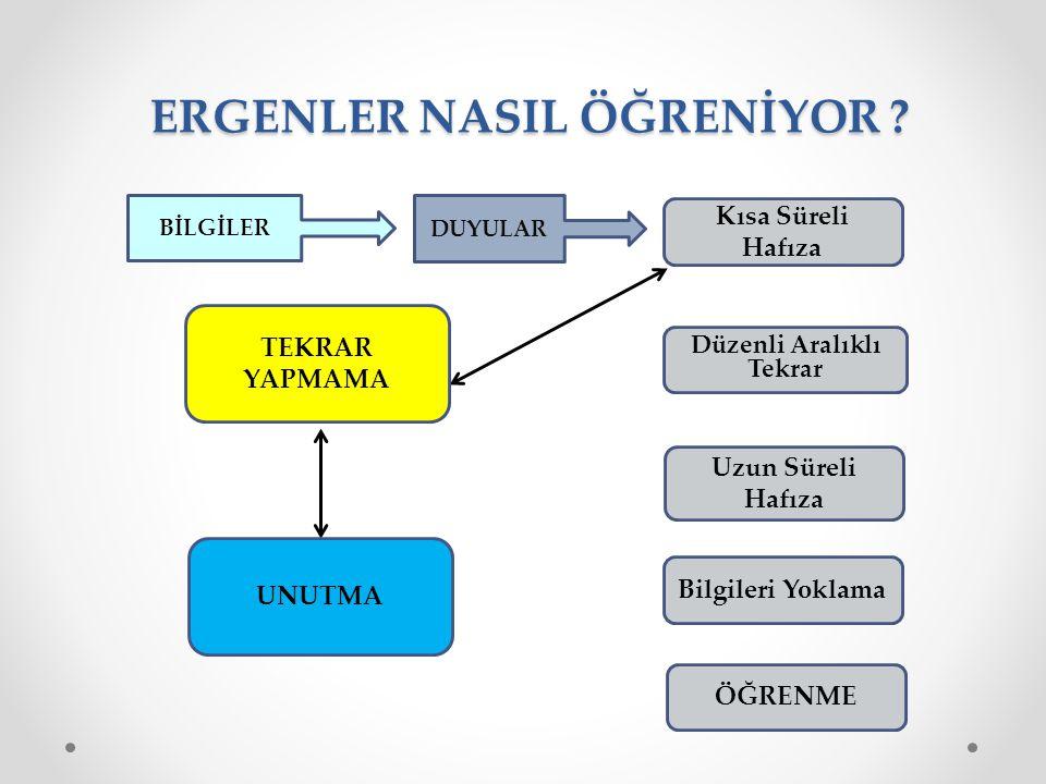 ERGENLER NASIL ÖĞRENİYOR