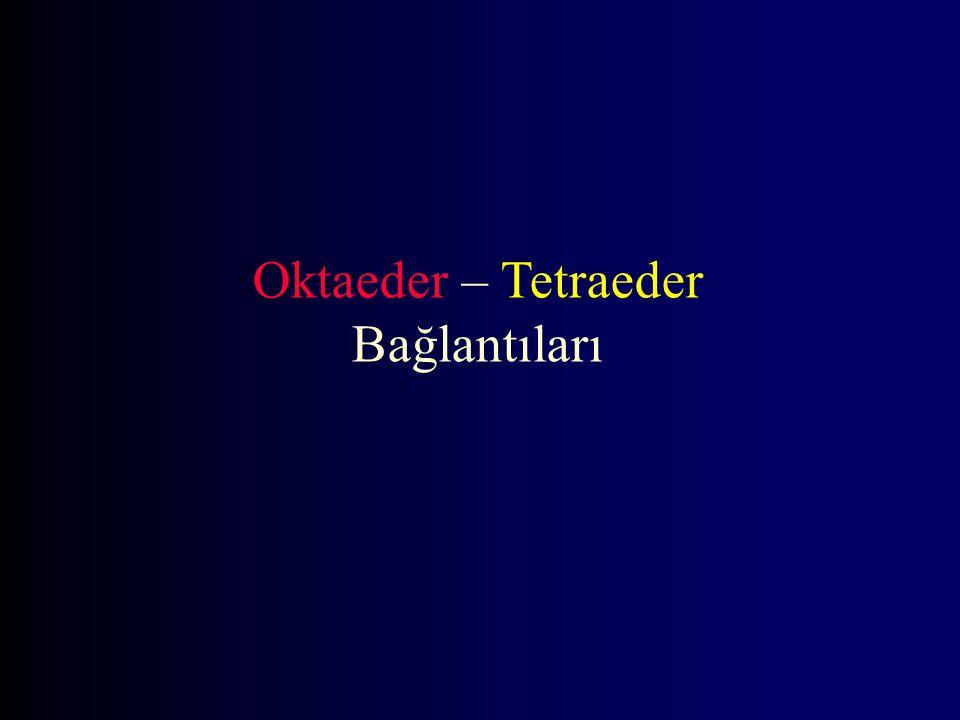 Oktaeder – Tetraeder Bağlantıları
