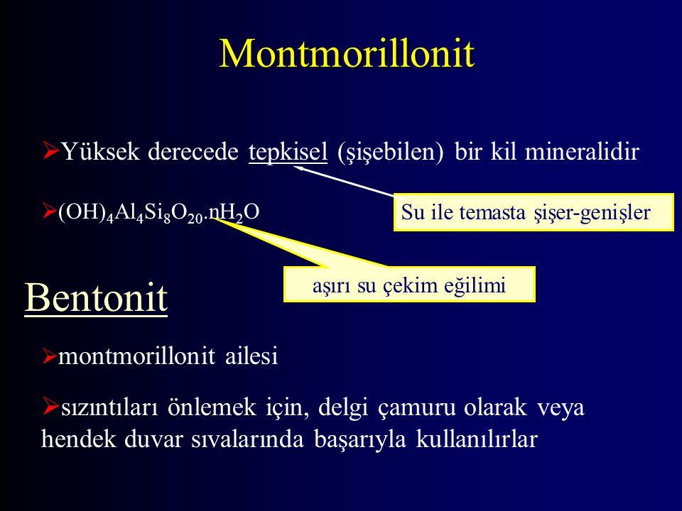 Montmorillonit Bentonit