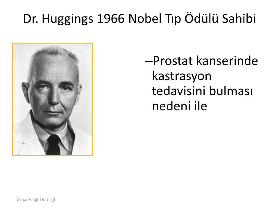 Dr. Huggings 1966 Nobel Tıp Ödülü Sahibi