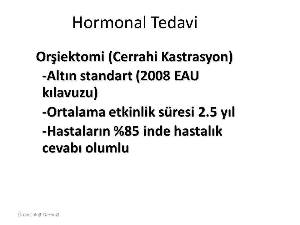 Hormonal Tedavi Orşiektomi (Cerrahi Kastrasyon)