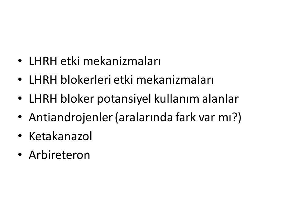 LHRH etki mekanizmaları