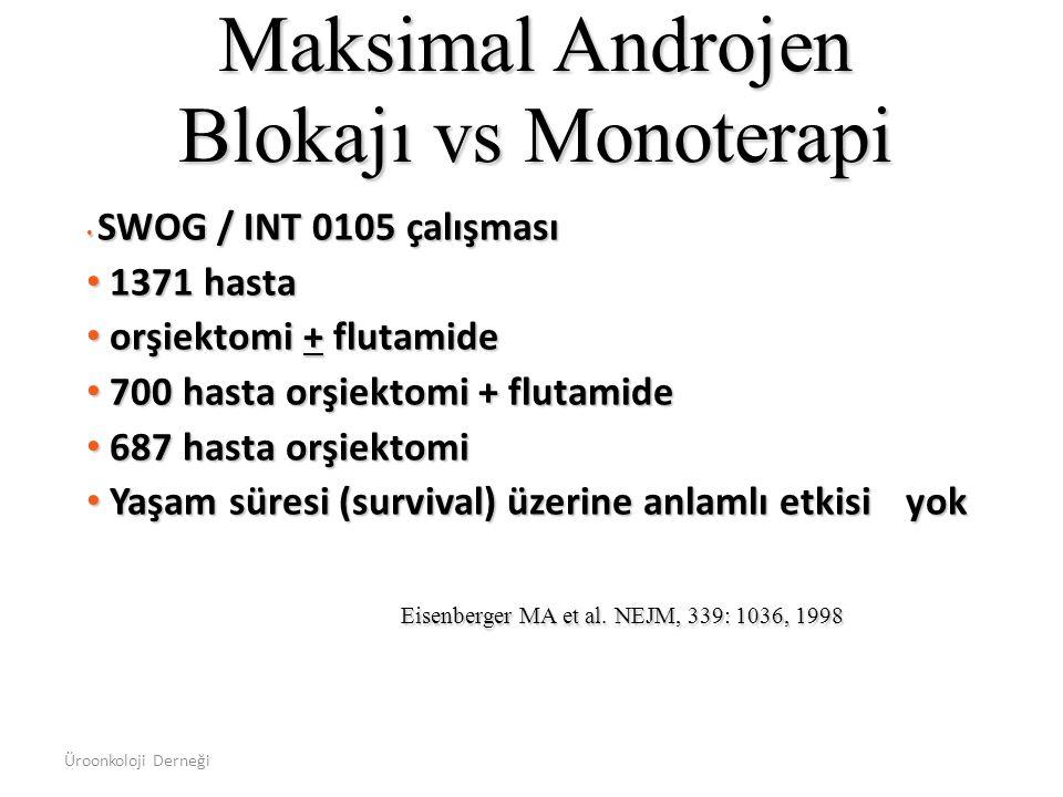 Maksimal Androjen Blokajı vs Monoterapi