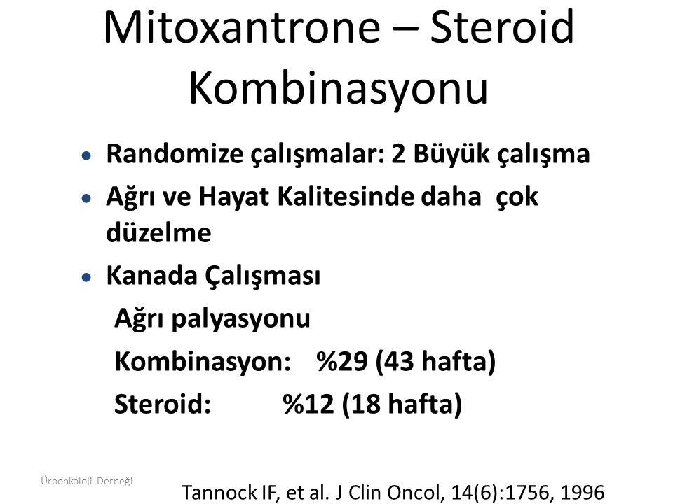 Mitoxantrone – Steroid Kombinasyonu