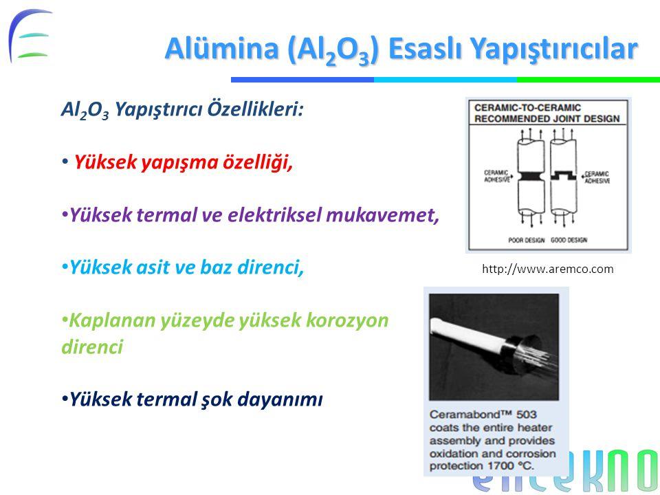 Alümina (Al2O3) Esaslı Yapıştırıcılar