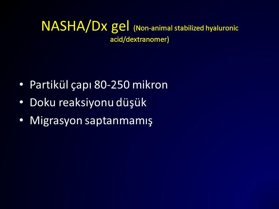 NASHA/Dx gel (Non-animal stabilized hyaluronic acid/dextranomer)