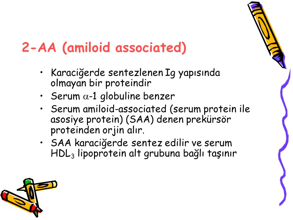 2-AA (amiloid associated)