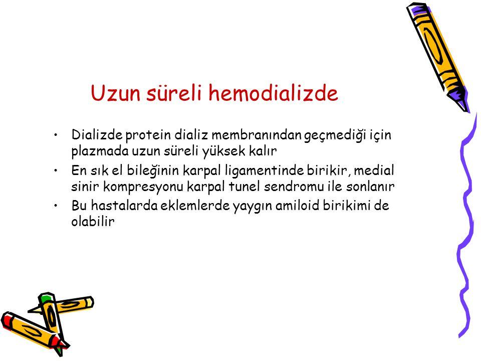 Uzun süreli hemodializde